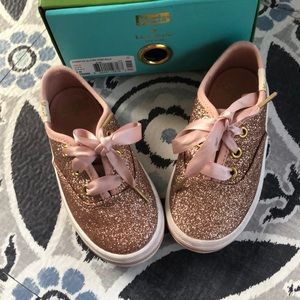 Kate Spade Keds - Rose Gold - Toddler 6